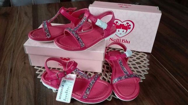 Buty Nelli Blu sandały dla blizniaczek