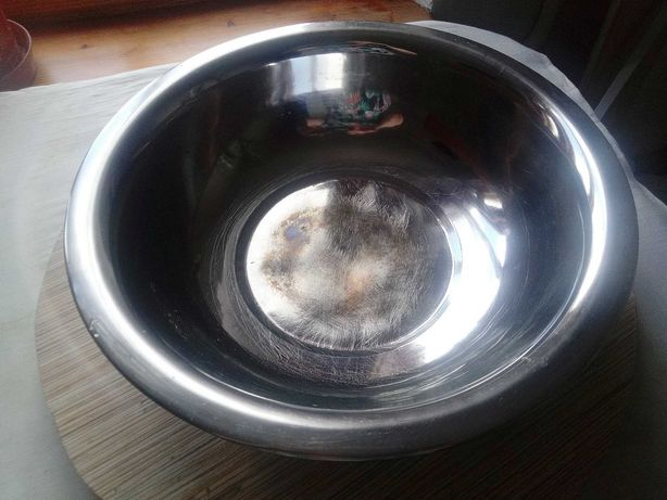 Таз тазик большая миска из нержавейки объем 5 литров хор.сост