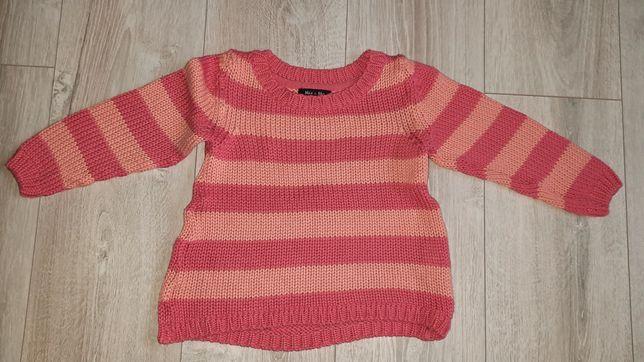Różowy sweterek r. 104