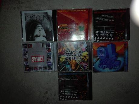 6 cds de música como novos
