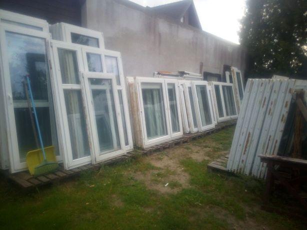 Okna używane pcv