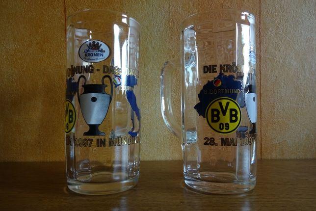 Kufel szklanka Borussia Dortmund - Juventus Turin # Oryginał!