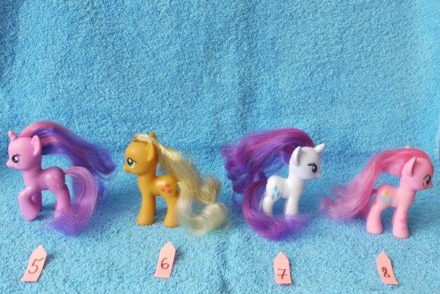 kucyki My Little Pony 8 cm wys.