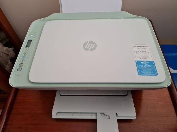 Impressora HP deskjet 2722 como nova com garantia até 10/2022