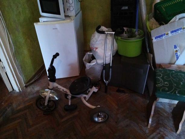 Велосипед - коляска детский 3х колесный