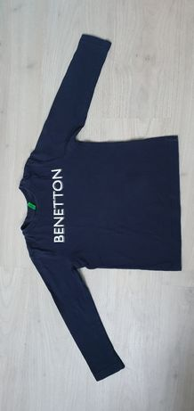 Bluza Benetton 122/128 grantowa, stan bdb