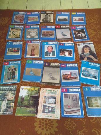 hodowca gołębi pocztowych gazetki ksiazki golebiach 25 sztuki