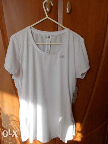 Koszulka damska New Balance - Biała