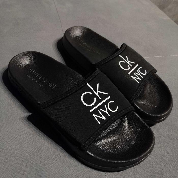 Nowe klapki marki Calvin Klein rozmiar 35/36 Sosnowiec - image 1