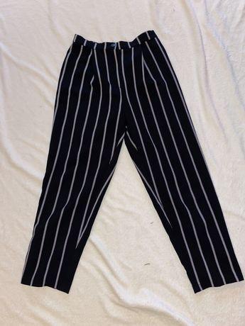 Szerokie spodnie w paski