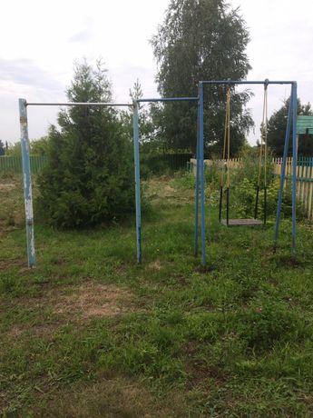 Деревянный забор, детская площадка бу