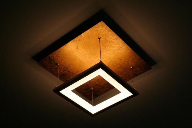 Stylowa nowoczesna Lampa sufitowa wisząca LED złota NEVIS Paul Neuhaus Częstochowa - image 1