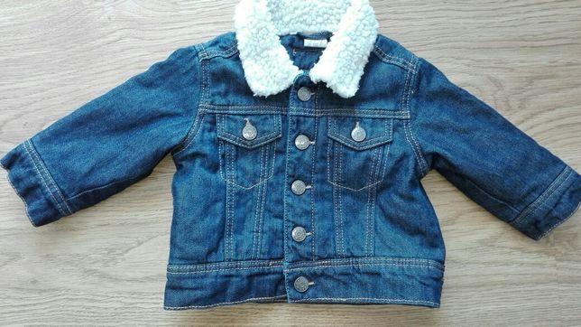 Kurtka H&M jeans chłopiec 68