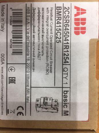 Продаётся диф автомат ABB Basic M 25/0,03