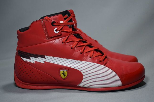Puma Evospeed F1 Mid Ferrari кроссовки для вождения кожа Оригин41/26.5