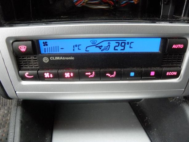 Panel sterowania klimatyzacja climatronic VW GOLF IV/BORA/PASSAT B5