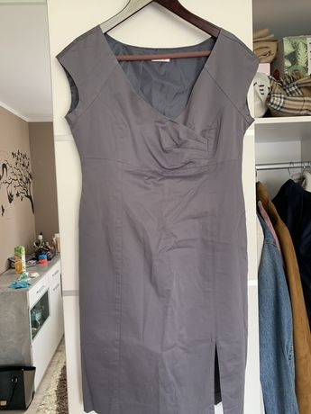 Sukienka Orsay szara popiel 42