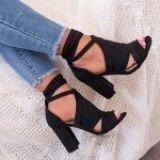 Sandałki na obcasie NOWE!