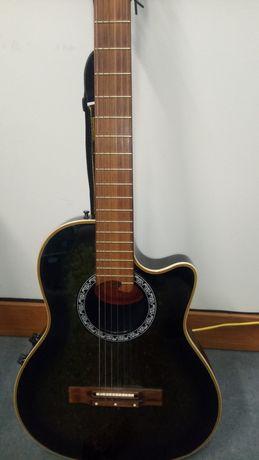 Guitarra Clarissa eletro-acustica estilo Ovation