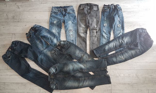 Spodnie chłopięce 128 na 8 latka