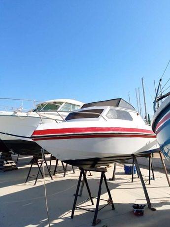 Barco renovado com MOTOR YAMAHA 50 PRO C/105 h dE USO
