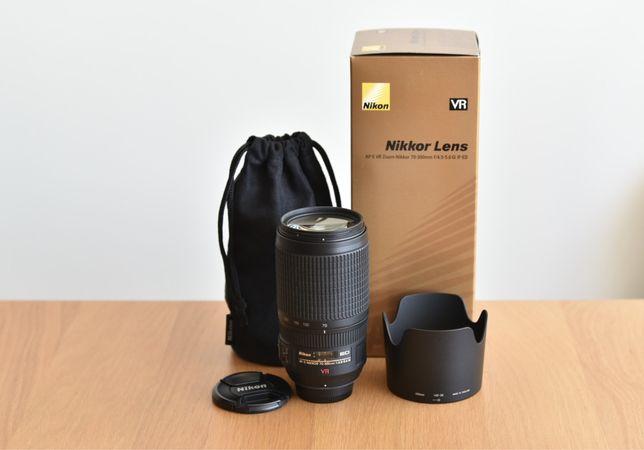 Nikon Nikkor 70-300 f/4.5-5.6 G VR