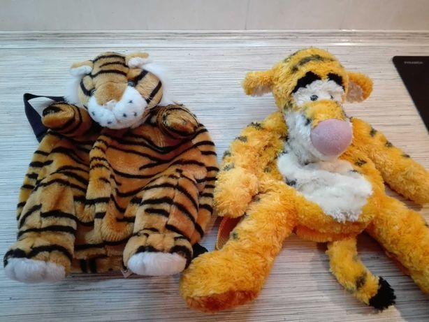 Рюкзак игрушка детский тигр, в садик или прогулок