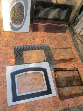 Стекла каленые к плитам, шланги газовые