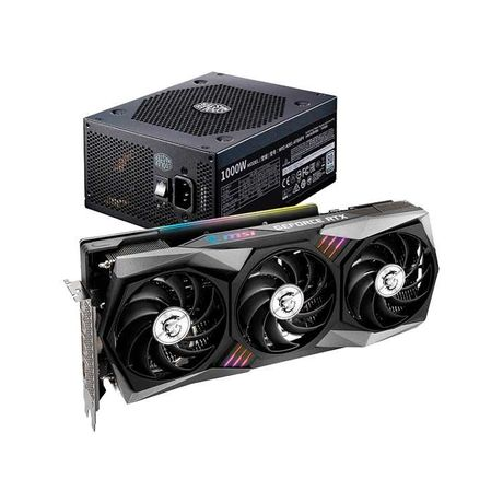 MSI RTX 3070 GAMING X TRIO 8GB GDDR6 + Cooler Master V1OOO-1OOOW