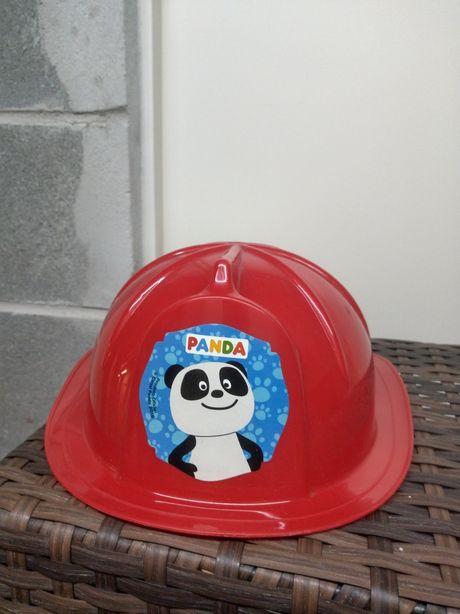 Chapéu de bombeiro do Panda