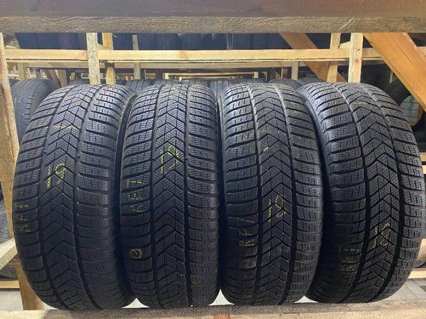 Шини зима бу 245/45R18 Pirelli Sottozero3 4шт 18,19рік 8мм РАНФЛЕТ