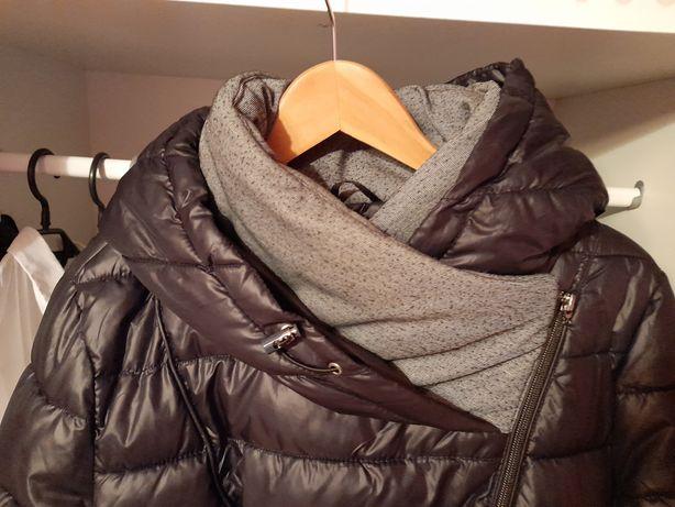 Czarna ciepła kurtka zimowa rozm L/XL