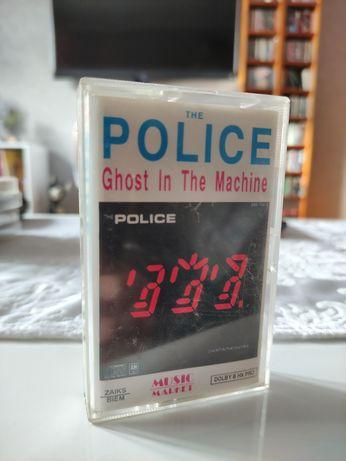 Kaseta tle Police ghost on the machine