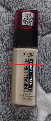 L'Oreal Infaillible 24h Fresh Wear podkład 005 Pearl bardzo jasny