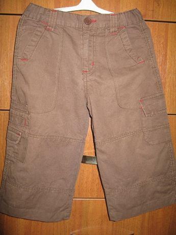 Шорты джинсовые удлиненные для мальчика 6-7 лет. Б\у
