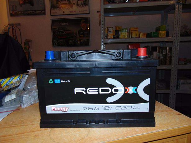 Akumulator Autopart Redox 75Ah 620A 12V Tanio Wymiana Kraków 74ah 72ah