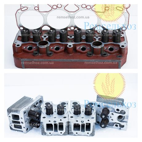 Головка блока цилиндров Т40,Т25,Д144,Д21,МТЗ,Д240,ЮМЗ,Д65,СМД14,18,22