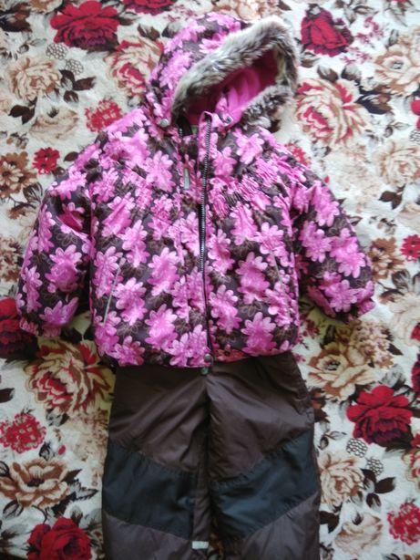 Раздельный зимний комбинезон Lenne 98+6 куртка