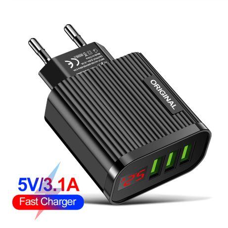 Сетевое зарядное устройство QC 3,0