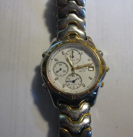 Zegarek Seyko Chronograf lata 90