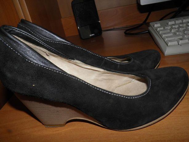 туфли натуральный замш дешево