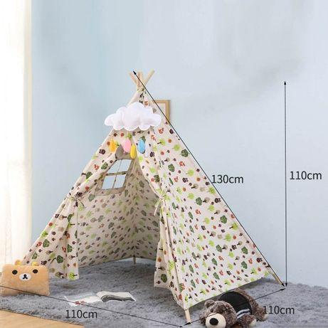 Namiot Tipi dla dzieci Ekologiczny Eko Tipi