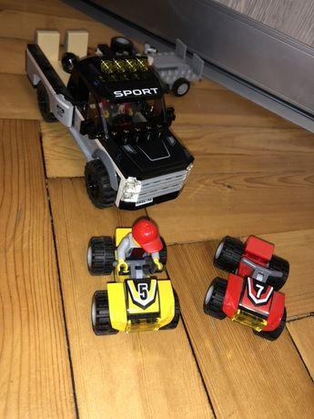 Лего City гоночная команда оригинал! Машина Полный набор новое состоян