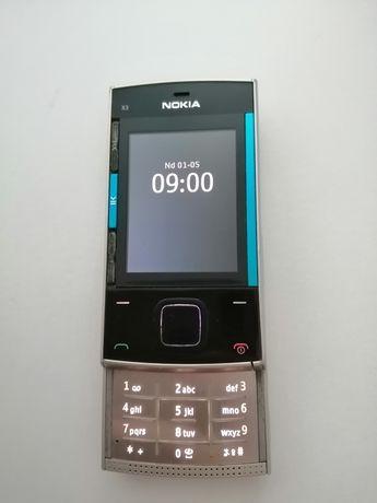 Telefon Nokia X3-00 bateria długo trzyma.
