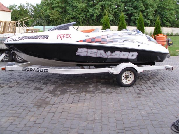 Motorówka speed-ster sea-doo