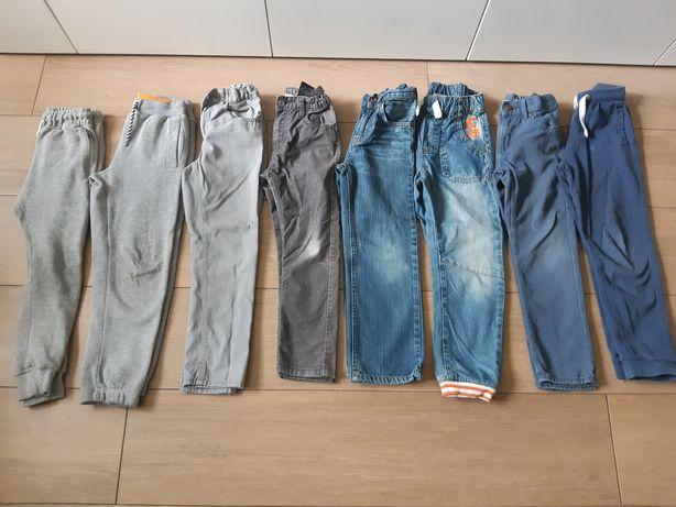 Spodnie hm r.122