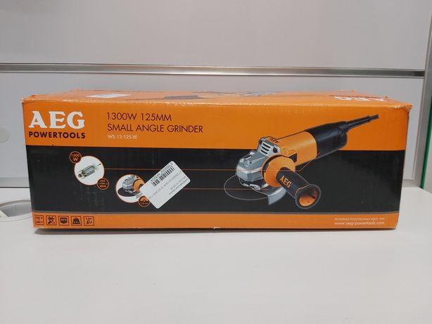 Болгарка AEG WS 13-125 XE
