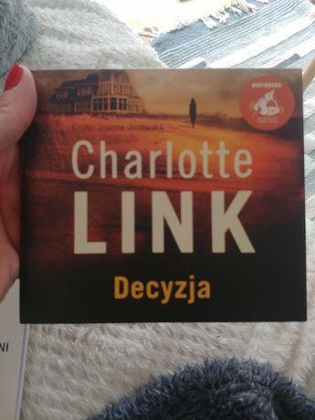 Charlote Link Decyzja. Audiobook na płycie