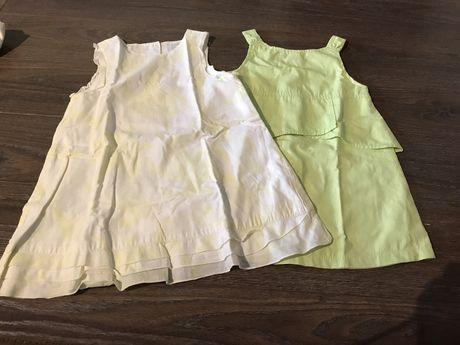 Lote de 2 vestidos, tamanho 2 anos