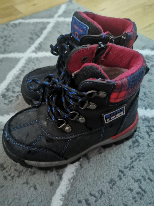 25 rozm śniegowce zimowe buty chłopięce jak nowe Stargard - image 1